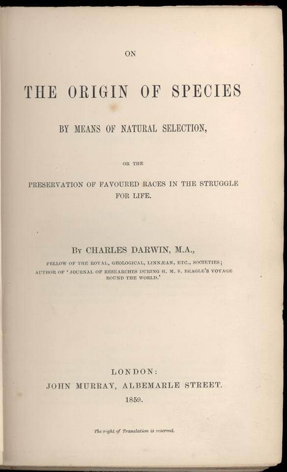 Feliz Cumpleaños Charles Darwin